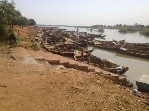 Niger River Boats
